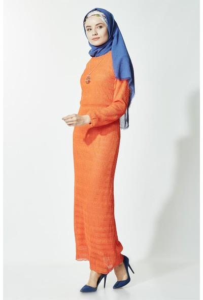 Kyl Collection Elbise-Turuncu 5135-78