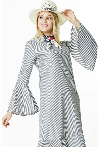 Butik Melina Elbise-Siyah 2405-01