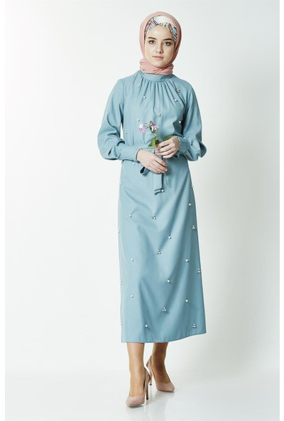 Mood Elite Elbise-Mavi BL7439-70