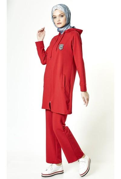 Butik Melina Takım-Kırmızı 2411-34