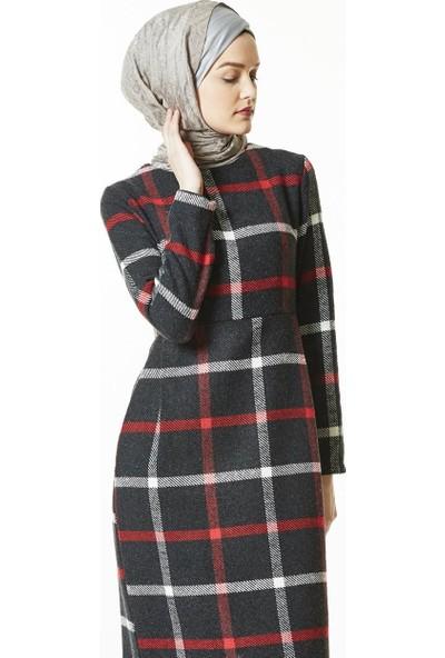 Butik Melina Elbise-Siyah 2491-01