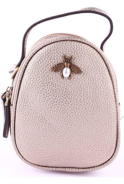 Ççs 15984 Kadın Günlük Çanta Altın