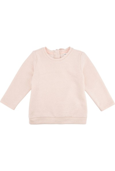 Defacto Kız Bebek Kız Bebek Melek Kanatlı Sweatshirt