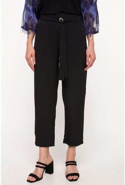 Defacto Kadın Kuşak Detaylı Pantolon