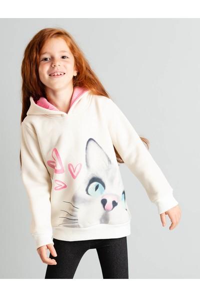 Ollie&Olla Lovely Cat Sweat-Shirt