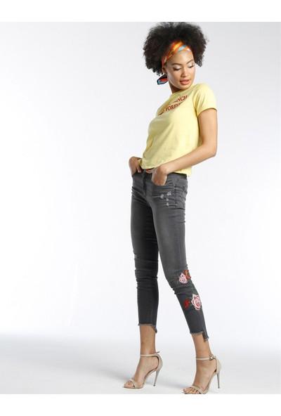 Twister Jeans Lara 9165-01 Nakış Detaylı