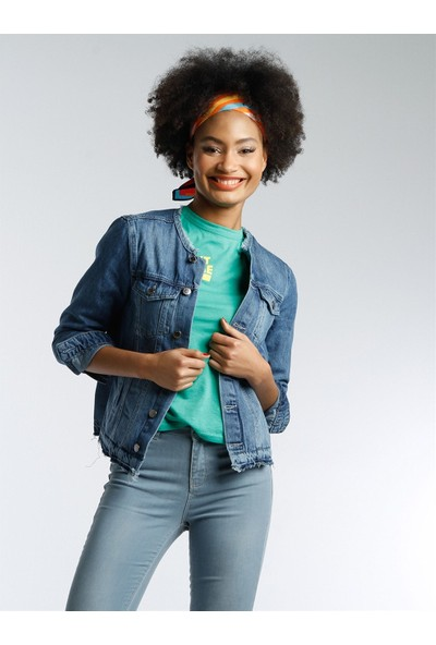 Twister Jeans Kadın Kot Ceket J17-02