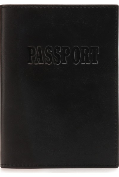 Otto Ot205 Deri Pasaport Kılıfı Cüzdanı