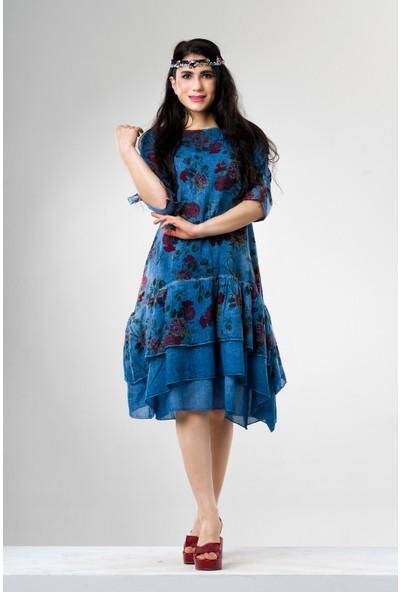 Eliş Şile Bezi Begüm Elbise