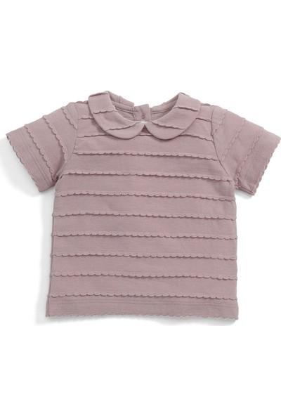 Mamas & Papas Trim Collar T-Shirt