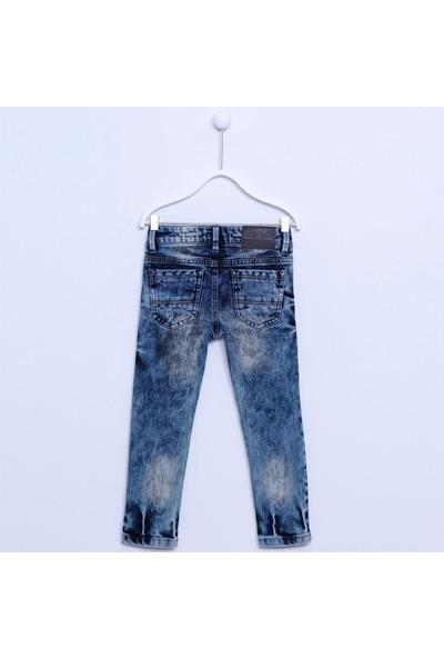 Silversun Erkek Çocuk Dokuma 5 Cepli Pantolon PC 74368