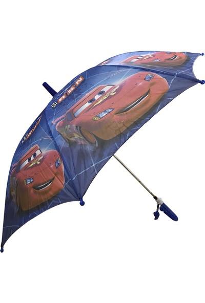 Balonpark Cars Çocuk Şemsiyesi Arabalar Şemsiye