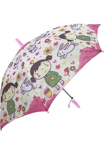 Balonpark Kız Çocuk Şemsiyesi Şemsiye