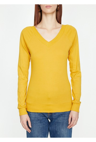 Koton V Yaka Sweatshirt