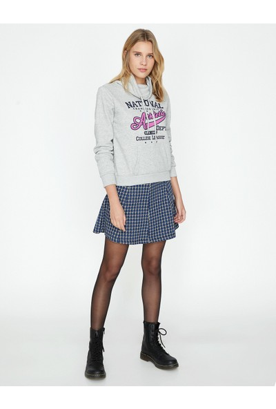 Koton Cep Detaylı Sweatshirt