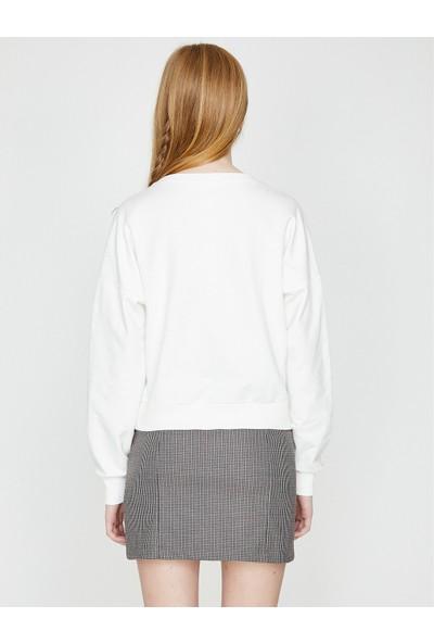 Koton Baskılı Sweatshirt
