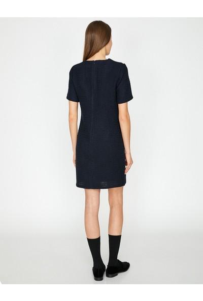 Koton Cep Detaylı Elbise