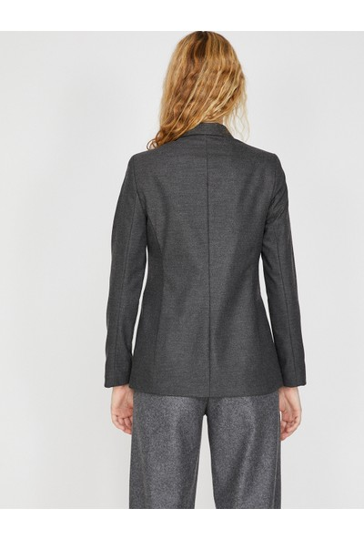 Koton Cep Detaylı Ceket