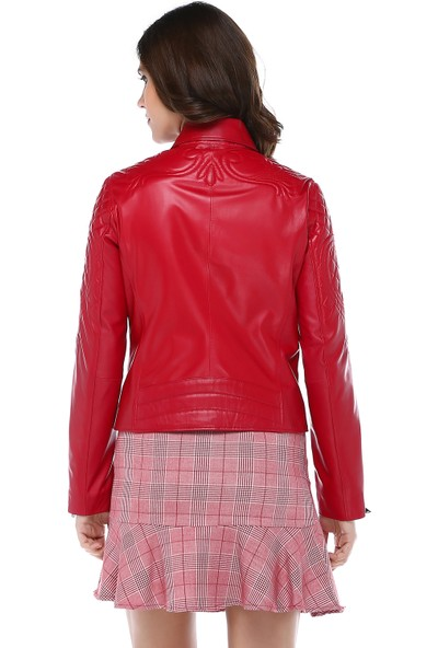 Dericlub Kayra Model Deri Kadın Ceket