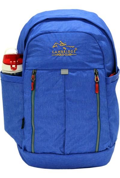 Cambridge Polo Club Plcan1669, Soft Sırt Çanta, Mavi
