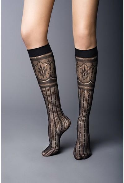 Gabriella Siyah 3 Boyutlu Külotlu Çorap Bonita Nero