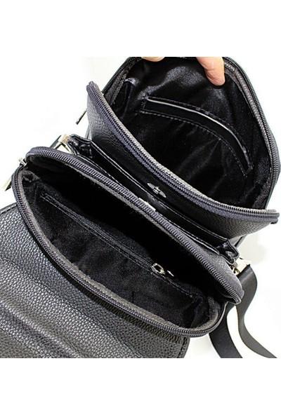 West Polo Racquet Clup Manyetik Kapaklı Çanta-Orta Boy