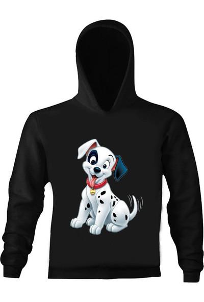 Art T-Shirt Dalmaçyalı Çocuk Kapüşonlu Sweatshirt