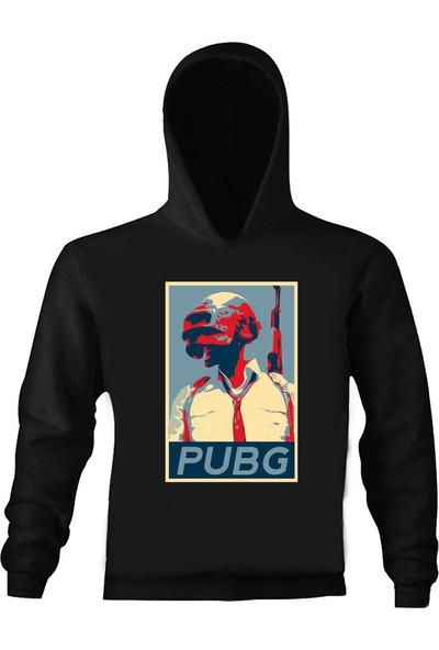Art T-Shirt Pubg Gamer Çocuk Kapüşonlu Sweatshirt