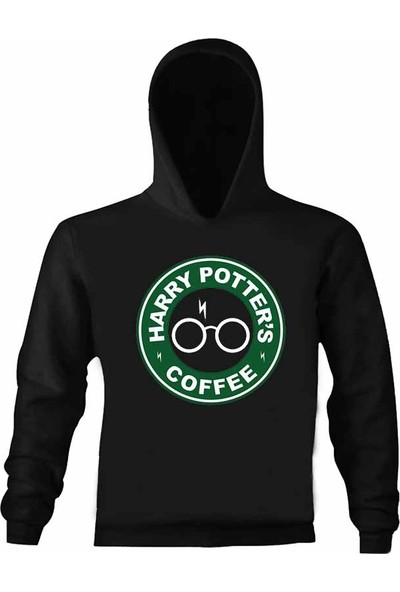 Art T-Shirt Harry Potter Coffee Çocuk Kapüşonlu Sweatshirt