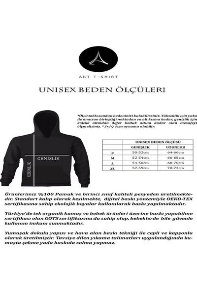 Art T-Shirt Hard Rock Cafe İzmir Unisex Kapüşonlu Sweatshirt
