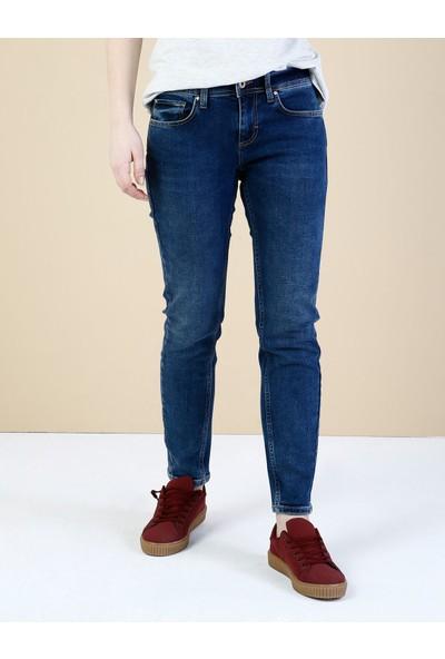 Colin's Koyu Mavi Kadın Pantolon