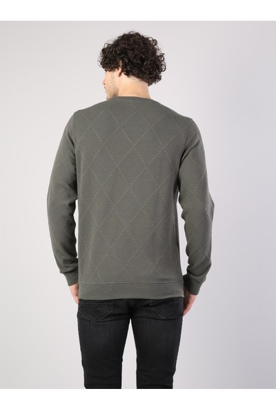 Colin's Yeşil Erkek Sweatshirt