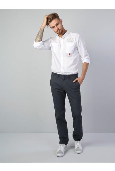 Colin's Beyaz Erkek Gömlek U.kol