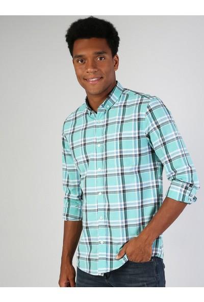 Colin's Yeşil Erkek Gömlek U.kol
