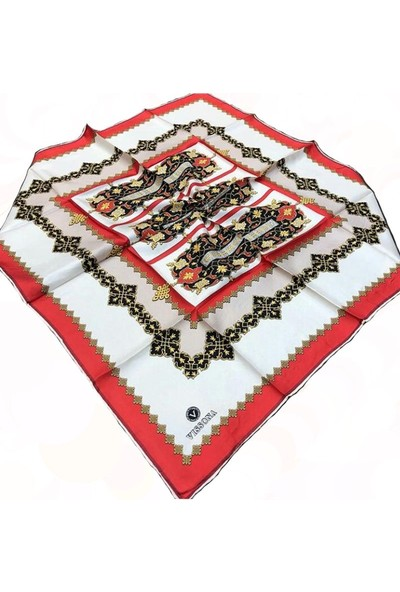 Vissona Tivil İpek Eşarp 16844-02