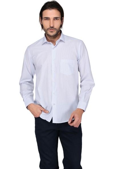 Buenza Sry 2818 Uzun Kol Gömlek-Mavi