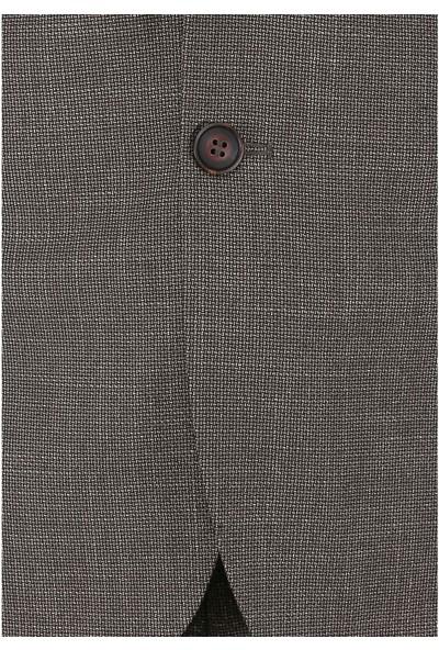 Buenza Costa Slim Fit Mono Tk Yrt Takım Elbise - Kahverengi