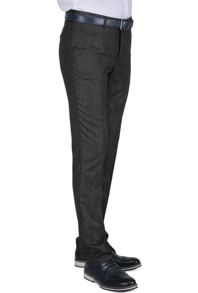 Buenza Armando Slim Fit G8 Pantolon - Fume