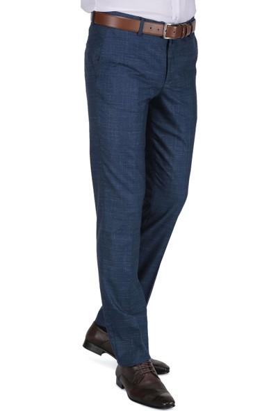 Buenza Mesina Duz Pilesiz Slım Fit G8 Pantolon - Mavi