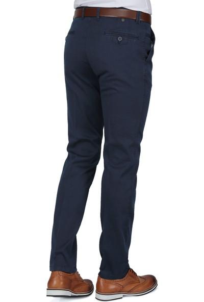Buenza Ruby Sulfur Casual Slim Fit Pantolon - Lacivert