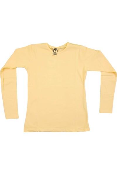 Nnk Basic Düz Sweatshirt Sarı