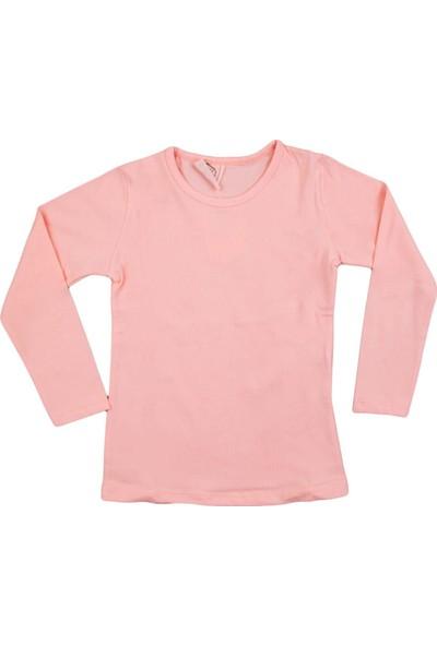 Nnk Basic Düz Sweatshirt Somon
