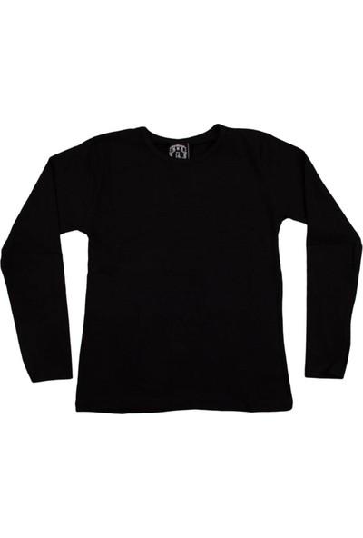 Nnk Basic Düz Sweatshirt Siyah