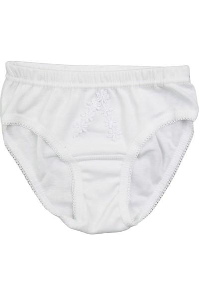 Berrak Kız Alt Beyaz İç Çamaşırı