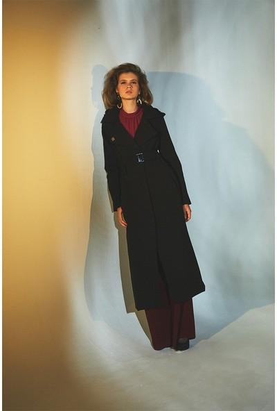Latifa Burch Şişme Kap Siyah