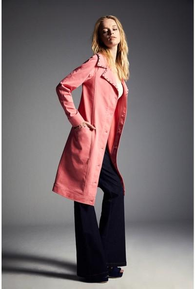 Latifa Pink Ceket Pembe