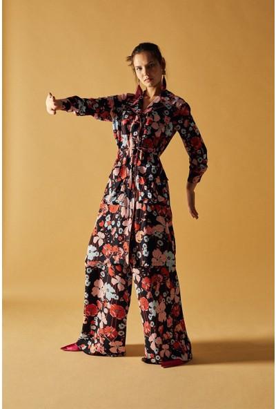 Latifa Voyage Tunik Takım Renkli