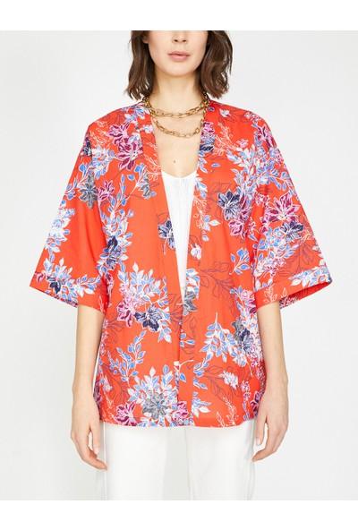 Koton Desenli Kimono