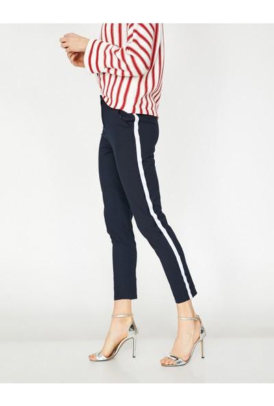 Koton Çizgili Pantolon