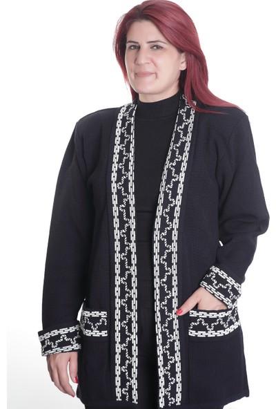 Detay Kadın Çelik Örgü Tunik 9798